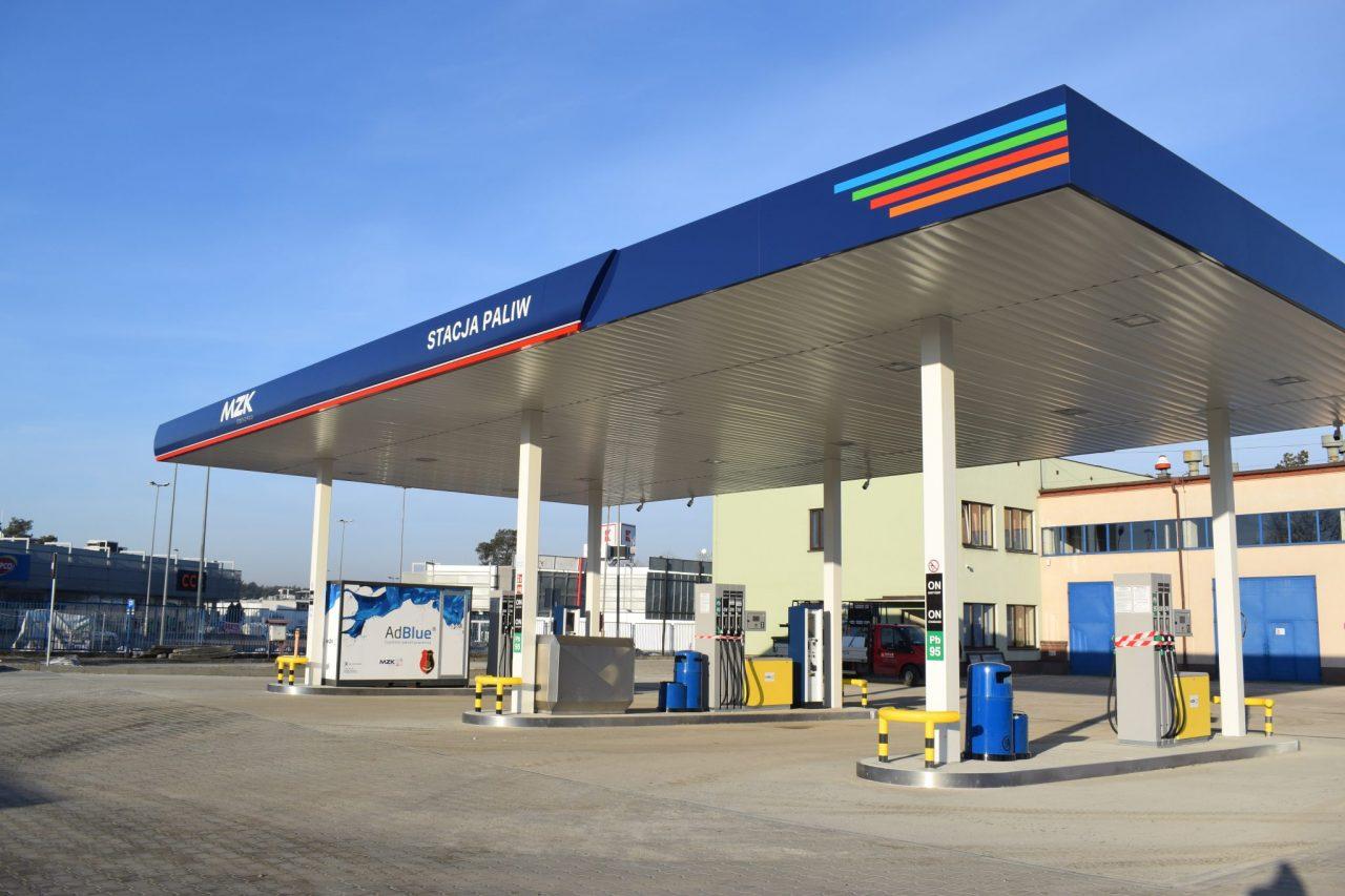 zdjęcie MZK stacji paliw