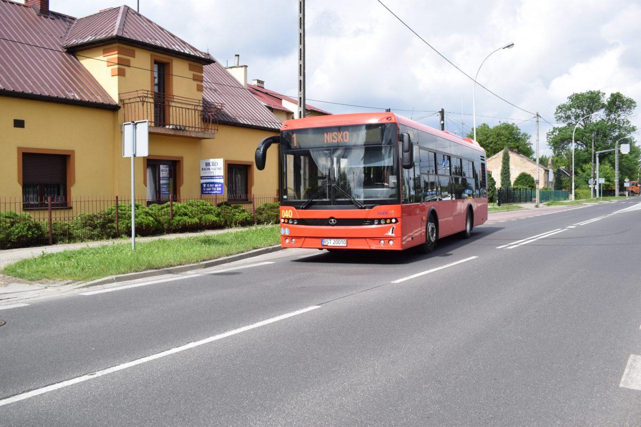 zdjęcie autobusu linii nr 1