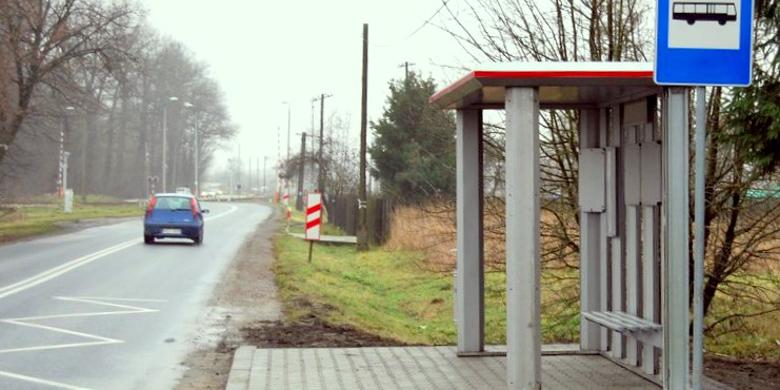 zdjęcie przystanku na ul. Sandomierskiej