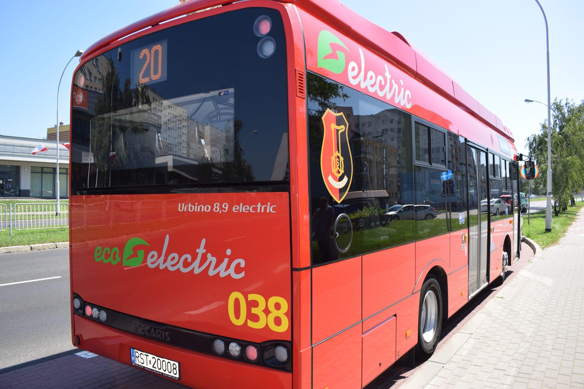 zdjęcie elektrycznego autobusu