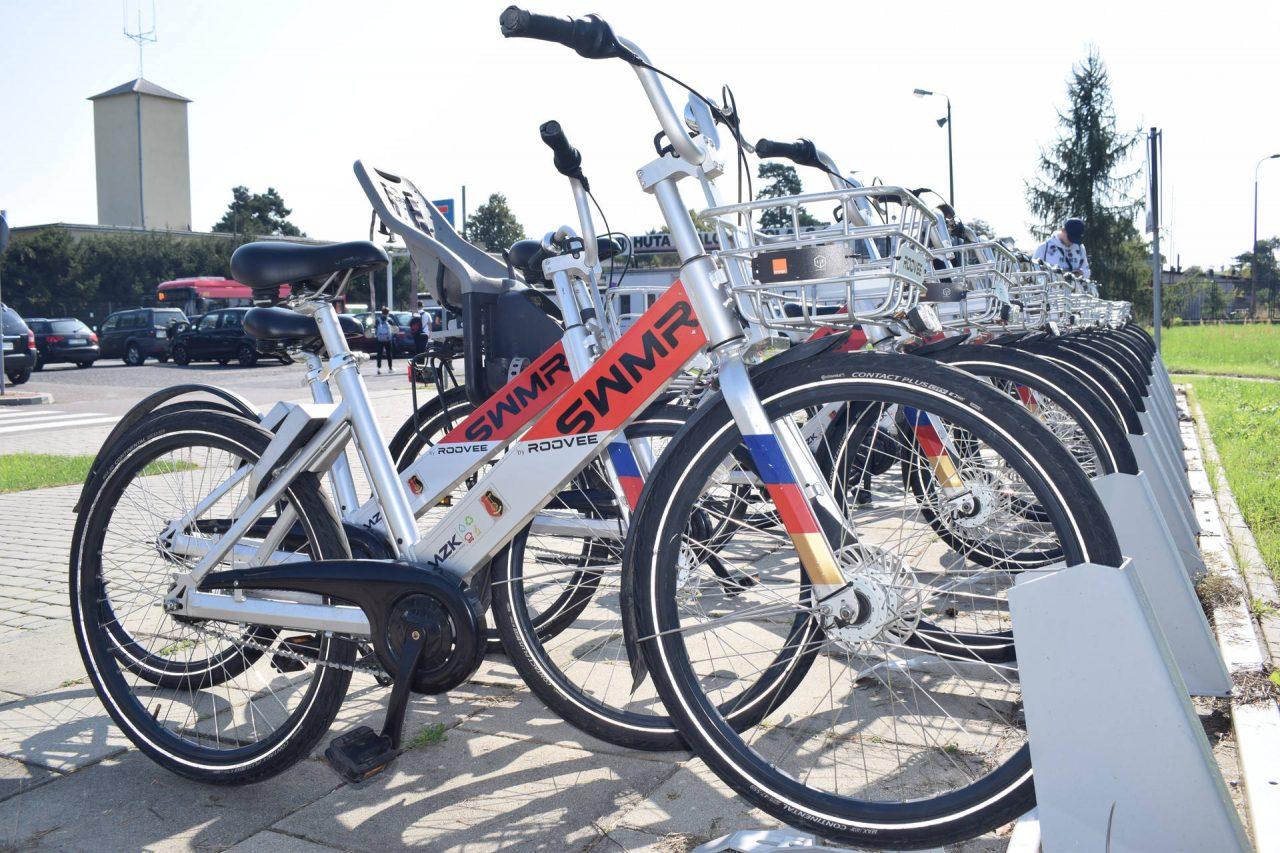 Miejska stacja rowerowa