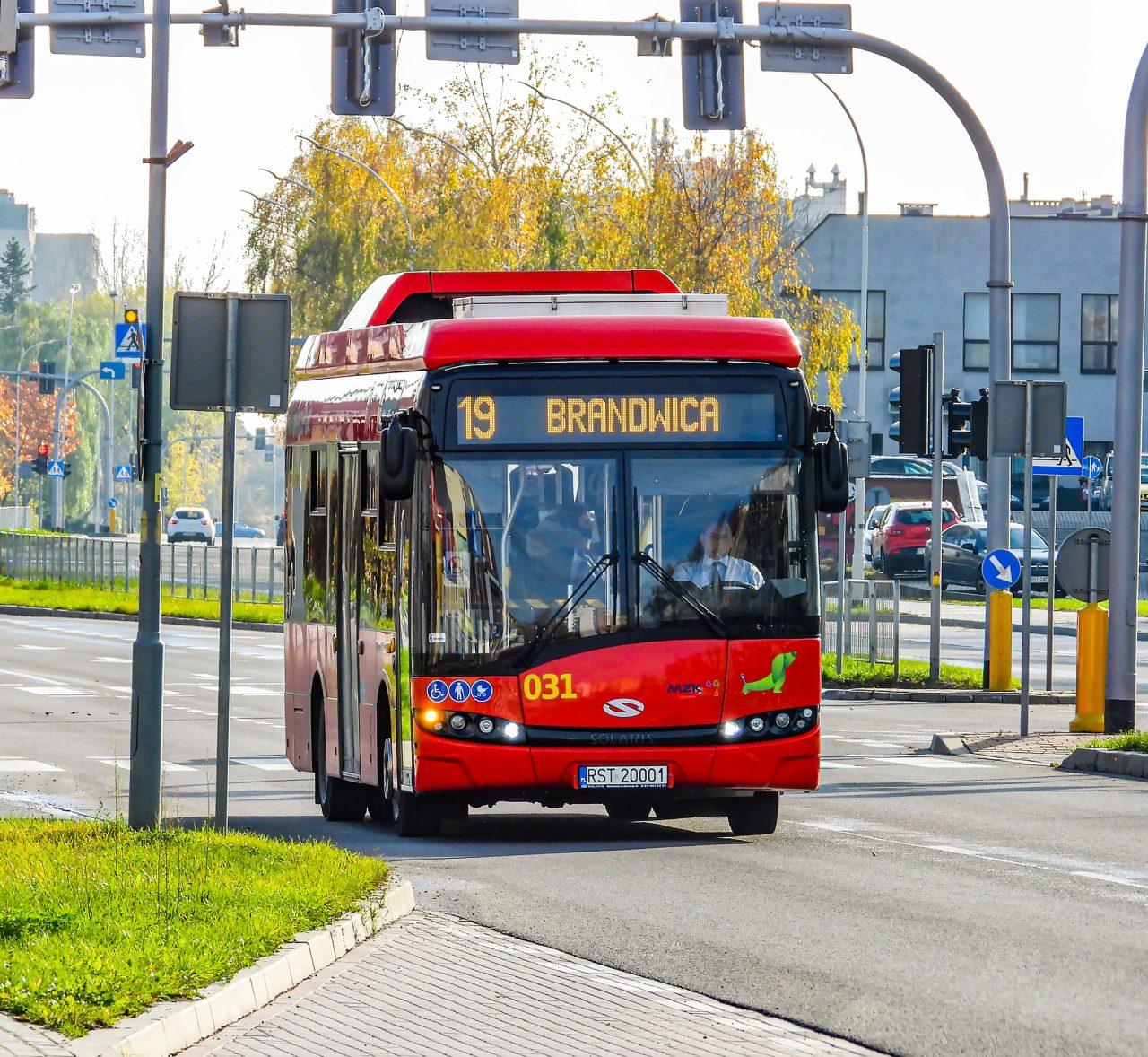 Autobus MZK nr 19 Brandwica